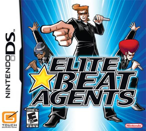 elite beat agents - box